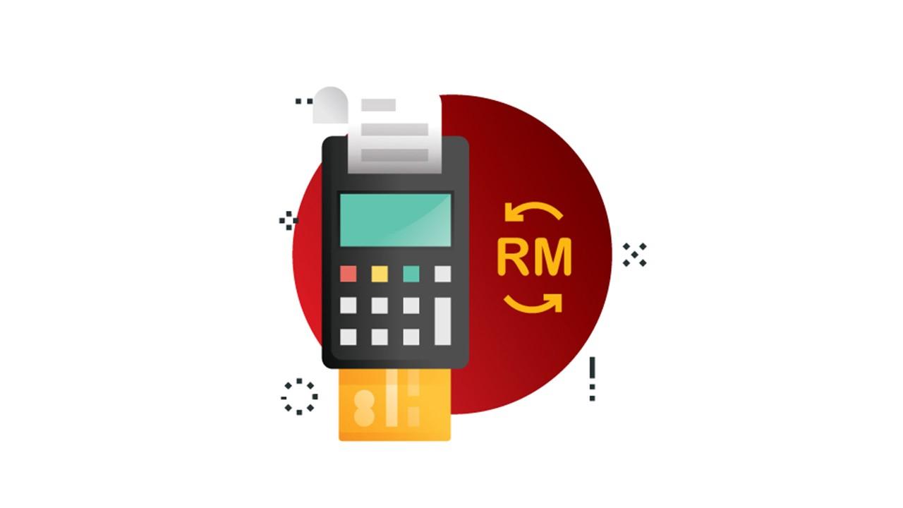 Transaction machine illustration