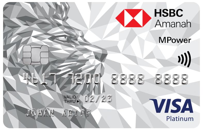 Amanah MPower Platinum credit card