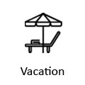vacation icon