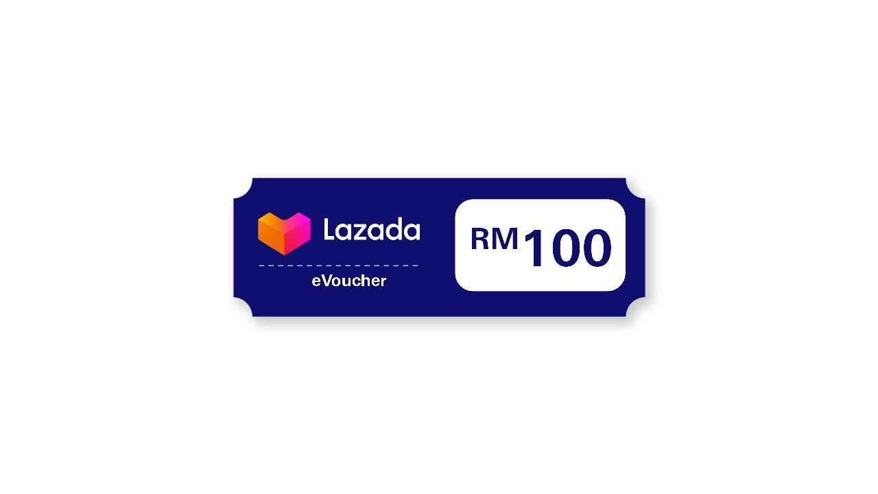 RM100 Lazada eVouchers