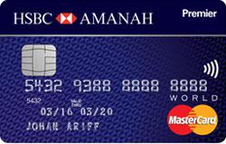 Picture of HSBC Premier Amanah mastercard