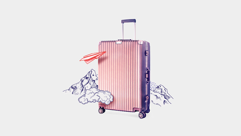 A suitcase; image used for HSBC Malaysia Premier Family